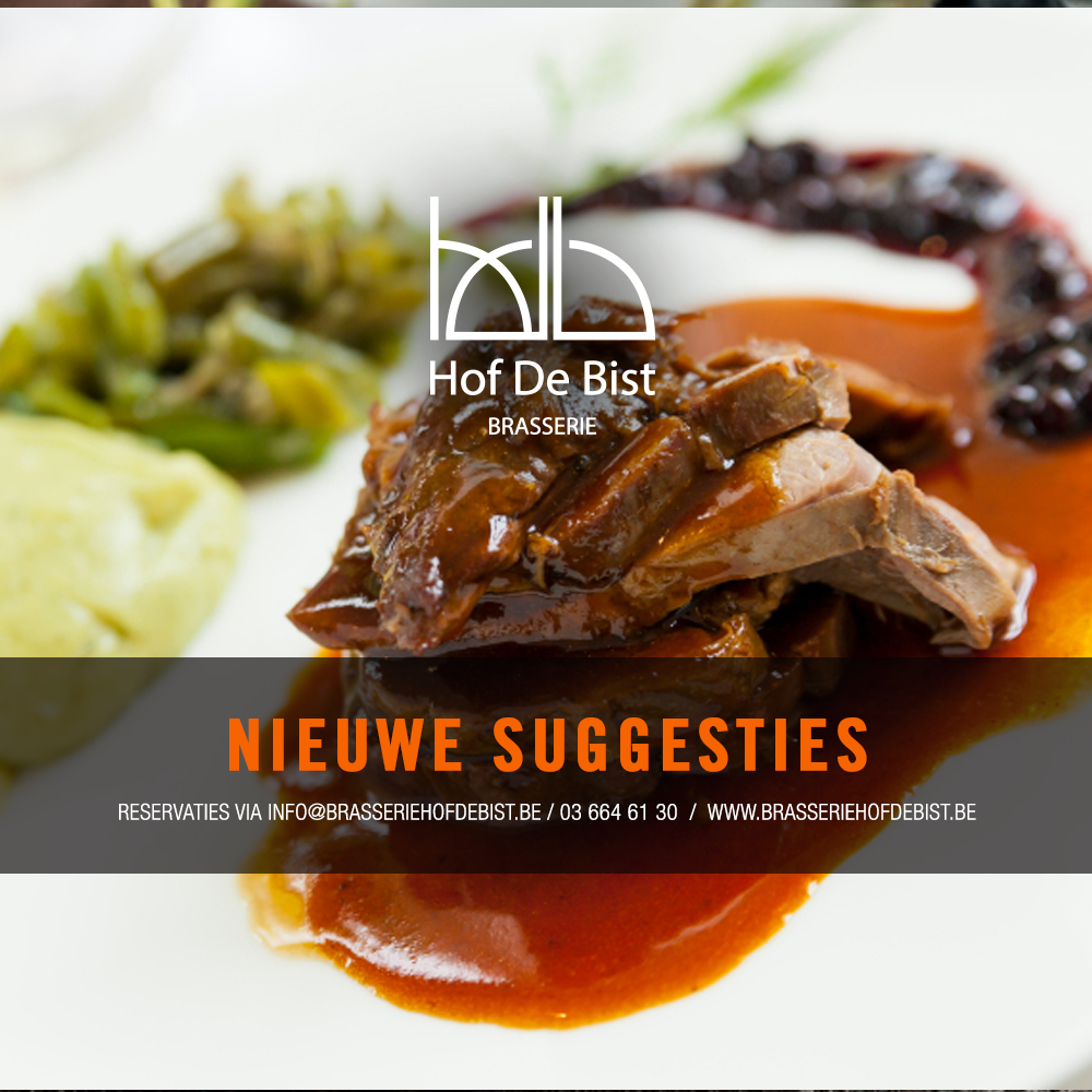 SUGGESTIES WILD brasserie hof de bist